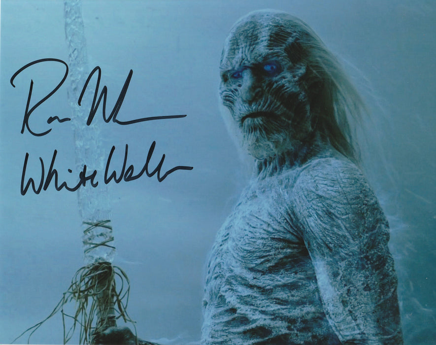Ross Mullan Autograph 8x10 Photo Game of Thrones White Walker COA 5