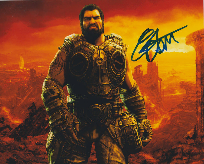 Carlos Ferro Autograph 8x10 Gears of War Photo Dominic Santiago Signed COA