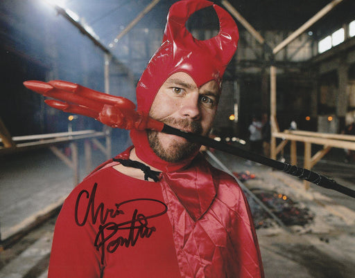Chris Pontius Autograph 8x10 Photo Jackass Party Boy Signed COA 2