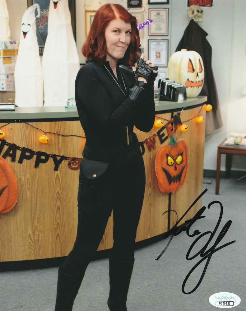Kate Flannery Autograph 8x10 Photo The Office Meredith Signed Picture JSA COA 5