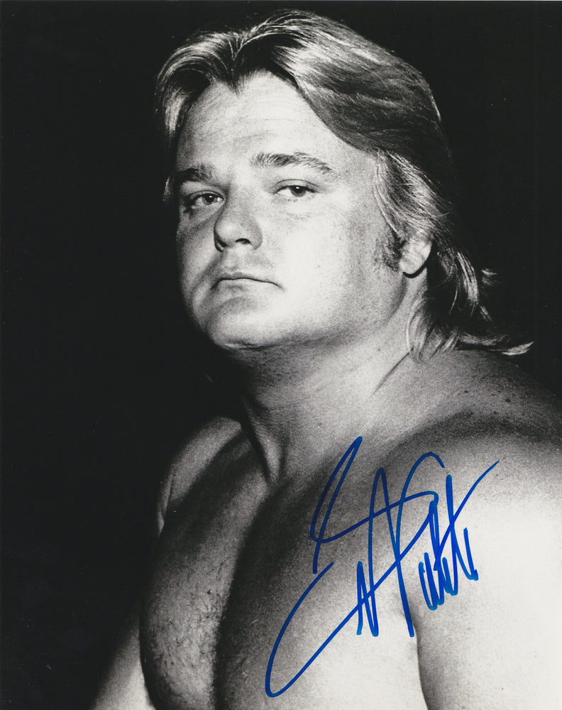 Greg Valintine Autograph 8x10 Photo WWF WWE Wrestling Signed COA