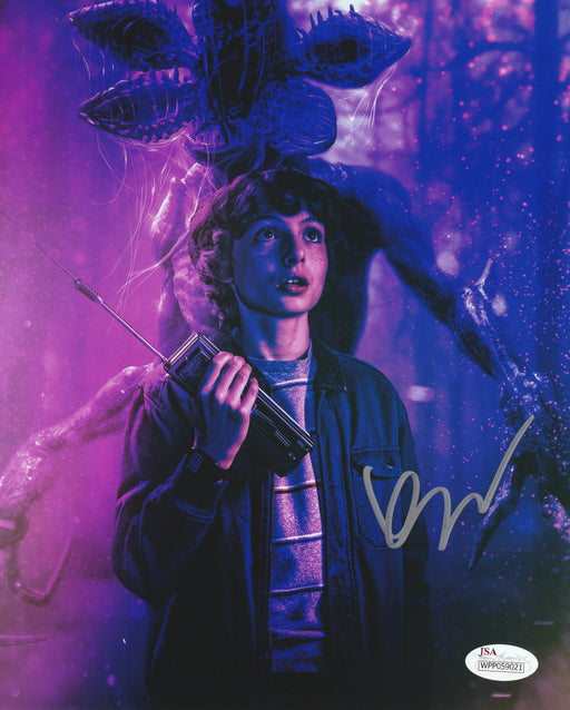 Finn Wolfhard Signed 8x10 Photo Stranger Things Mike Autograph JSA COA Z3