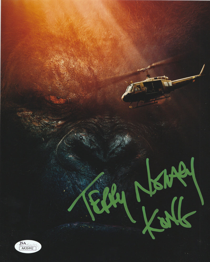 Terry Notary Autograph 8x10 Photo King Kong Signed Kong Movie JSA COA 6