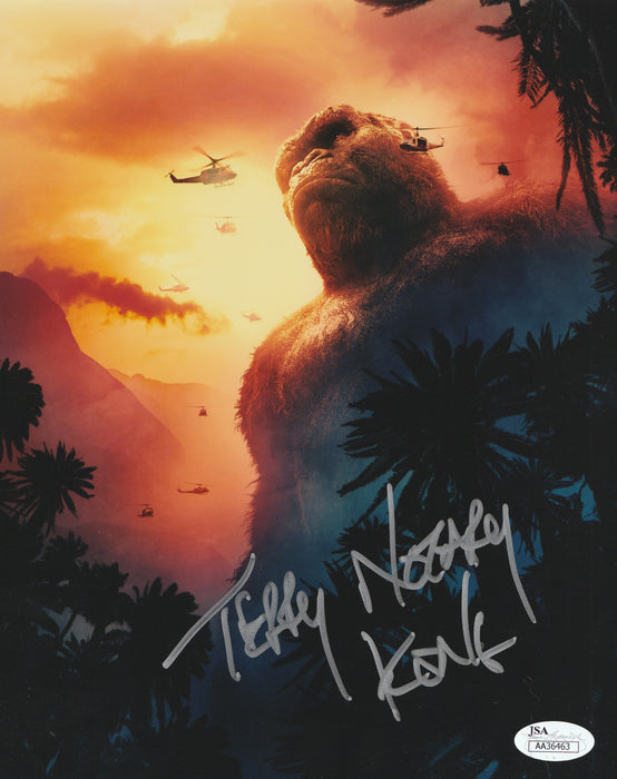 Terry Notary Autograph 8x10 Photo King Kong Signed Kong Movie JSA COA 5