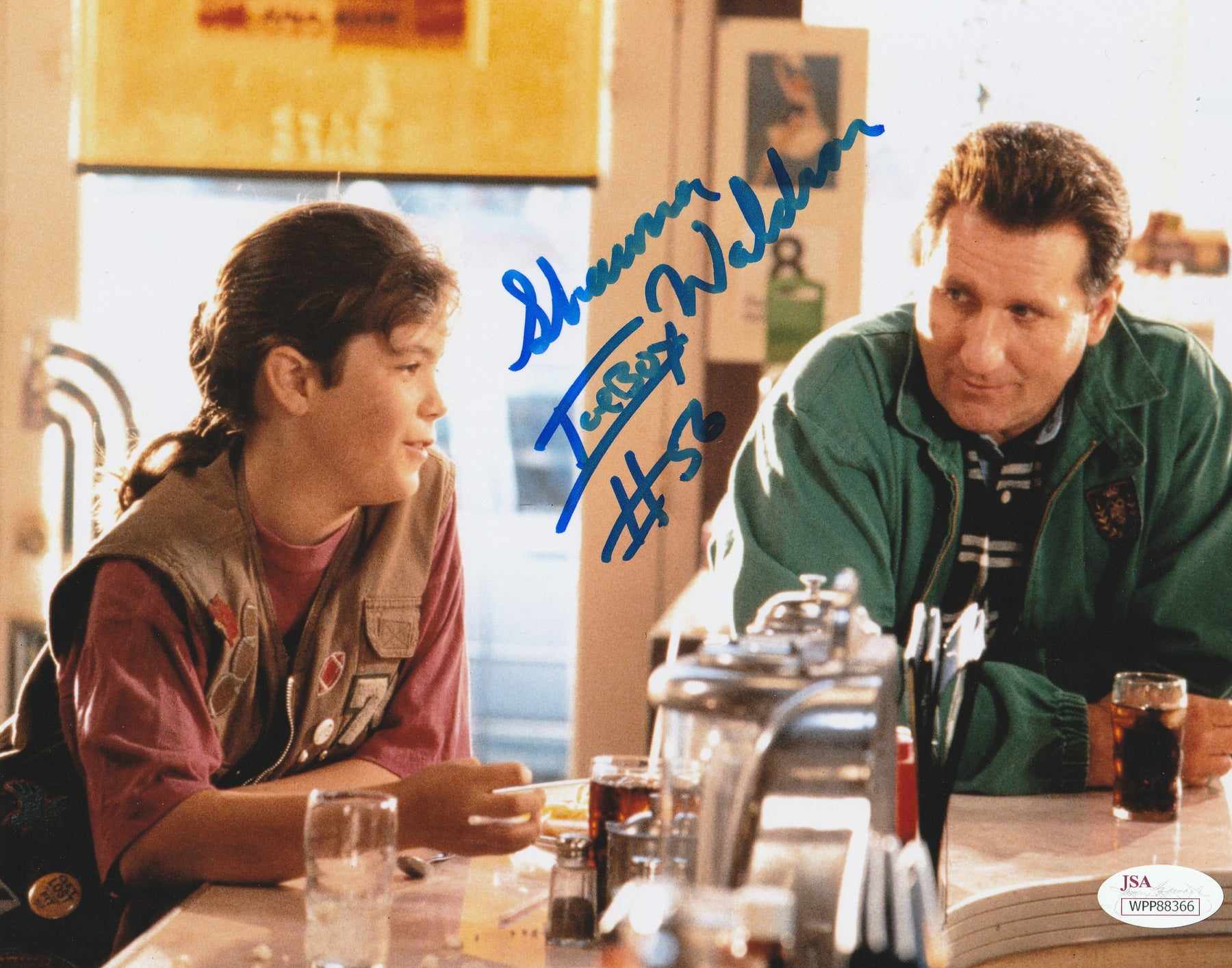 Shawna Waldron Autograph 8x10 Photo Little Giants ICEBOX Signed JSA COA 2