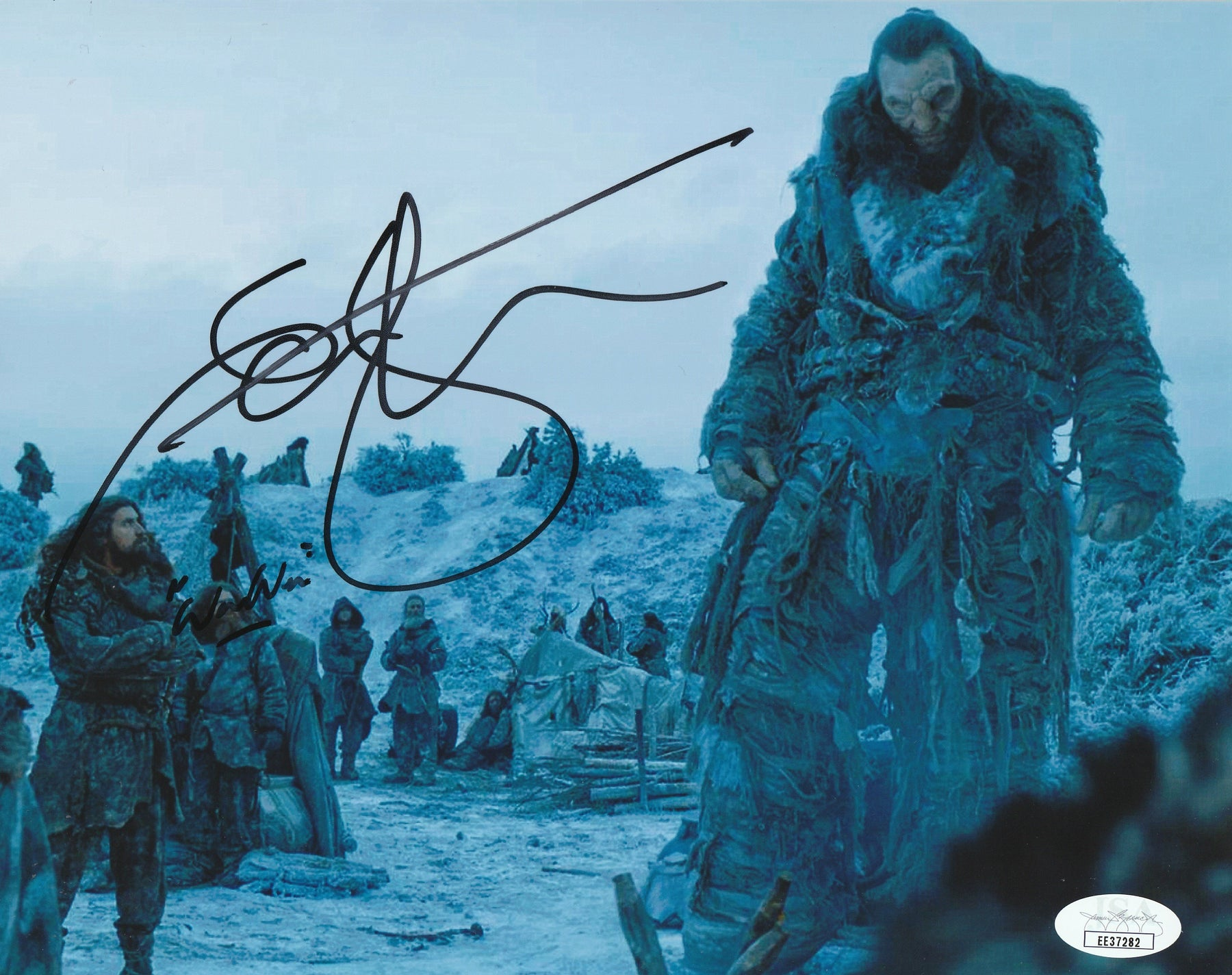 Ian Whyte Autograph 8x10 Photo Game of Thrones Wun Wun Signed JSA COA 2