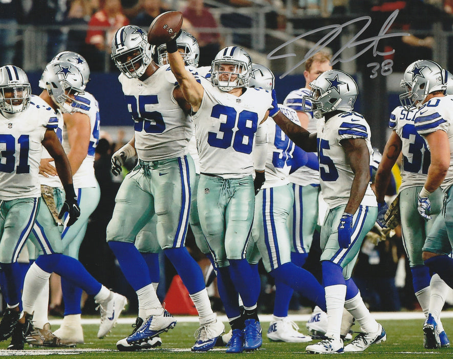 Jeff Heath Autograph 8x10 Photo Dallas Cowboys Signed Zobie COA
