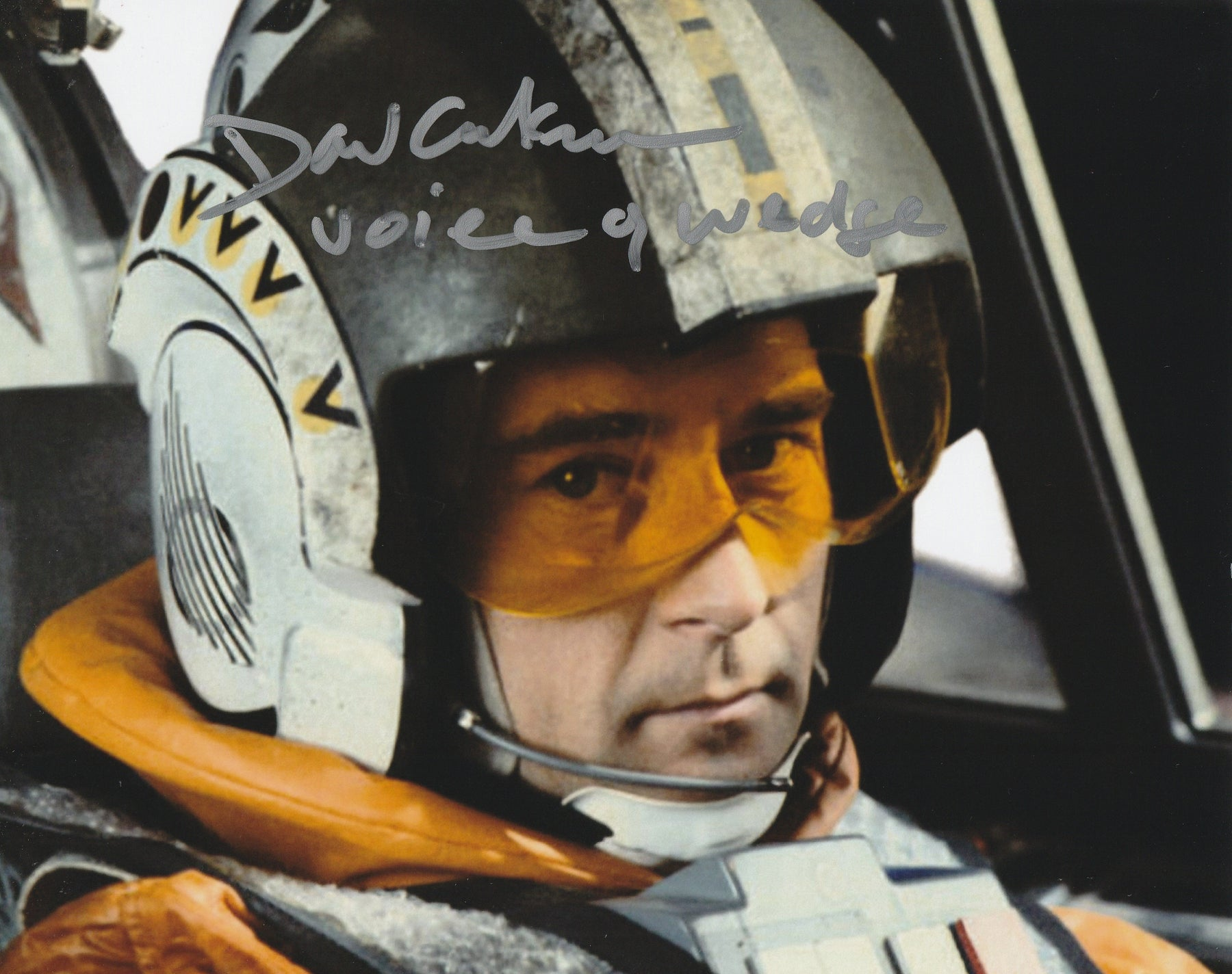 David Ankrum Autograph Star Wars 8x10 Voice of Wedge Photo Signed COA