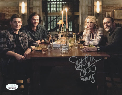 SPECIAL Samantha Smith Autograph 8x10 Photo Supernatural Mary Winchester Signed JSA COA