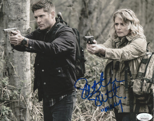 SPECIAL Samantha Smith Autograph 8x10 Photo Supernatural Mary Winchester Signed JSA COA 2