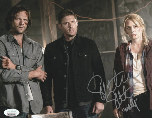 SPECIAL  Samantha Smith Autograph 8x10 Photo Supernatural Mary Winchester Signed JSA COA 3