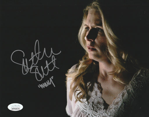 SPECIAL Samantha Smith Autograph 8x10 Photo Supernatural Mary Winchester Signed JSA COA 7