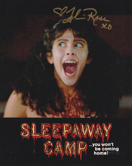 Felissa Rose Autograph 8x10 Photo Sleepaway Camp Signed Zobie COA
