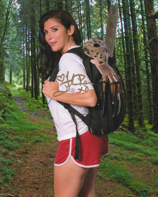 Felissa Rose Autograph 8x10 Photo Sleepaway Camp Signed Zobie COA 4