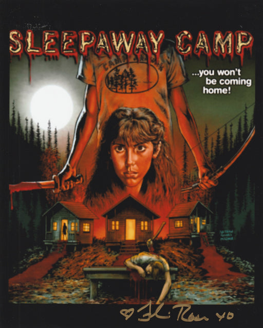 Felissa Rose Autograph 8x10 Photo Sleepaway Camp Signed Zobie COA 3