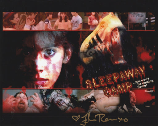 Felissa Rose Autograph 8x10 Photo Sleepaway Camp Signed Zobie COA 2