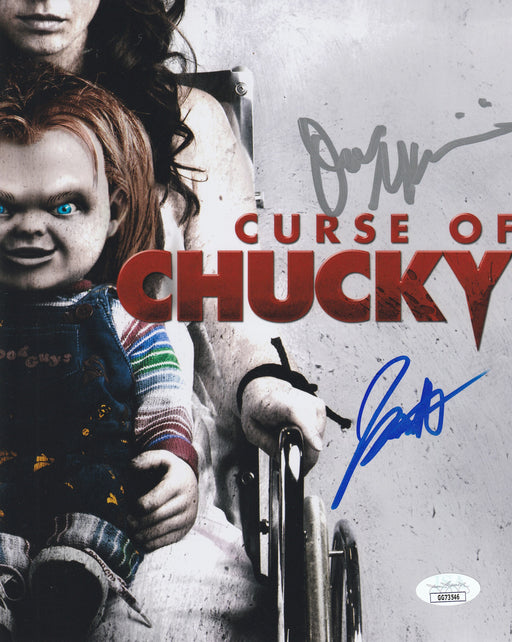 Don Mancini & Fiona Dourif Autograph 8x10 Photo Curse of Chucky Signed JSA COA