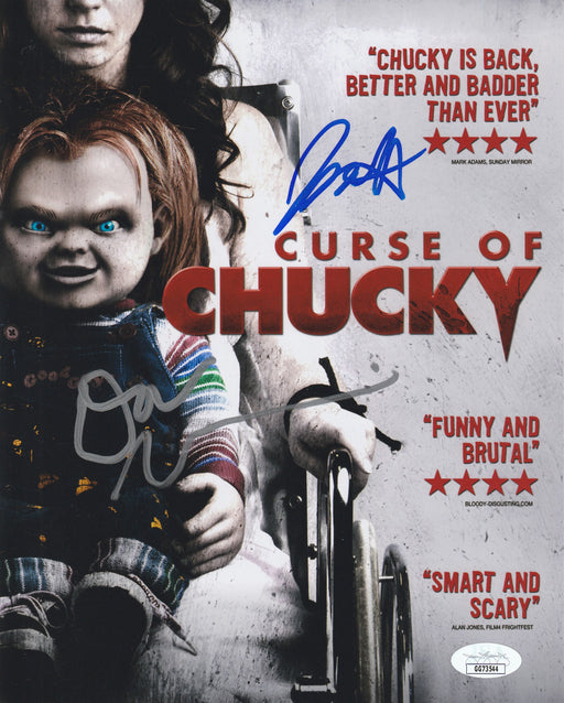 Don Mancini & Fiona Dourif Autograph 8x10 Photo Curse of Chucky Signed JSA COA 2
