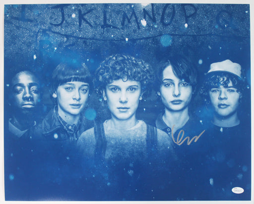 Finn Wolfhard Autograph 16x20 Photo Stranger Things Mike Signed JSA COA 6