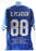 Drew Pearson Autograph Custom Dallas Cowboys Stat Jersey XL Signed JSA COA