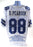 Drew Pearson Autograph Custom Dallas Cowboys Stat Jersey XL Signed JSA COA 2
