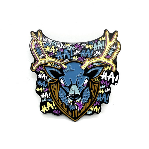 "Zobie Fright Pack - Limited Edition 2"" Enamel Lapel Pin - Evil Dead - Deer Variant"