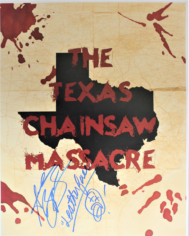 Andrew Bryniarski Signed 16x20 Photo Autograph Texas Chainsaw Massacre COA Z1