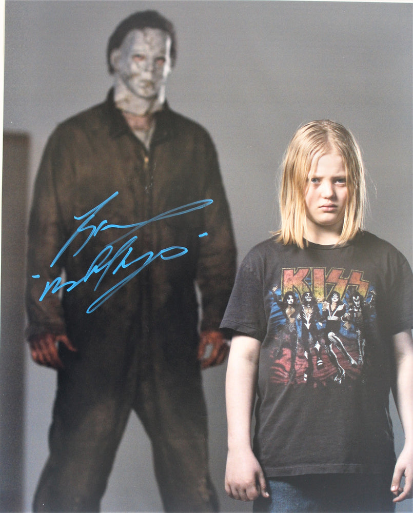 Tyler Mane Signed 16x20 Photo Autograph Halloween Michael Myers COA Z3