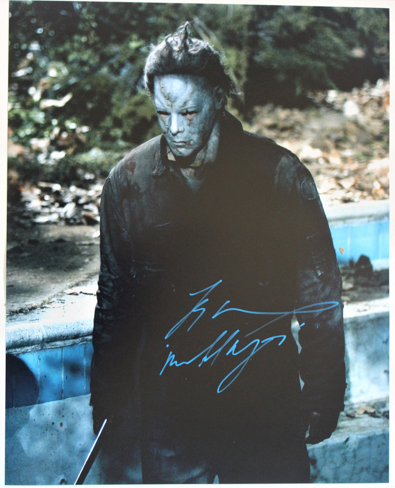 Tyler Mane Signed 16x20 Photo Autograph Halloween Michael Myers COA Z1