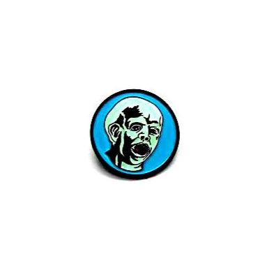 "Zobie Fright Pack - Limited Edition 1"" Enamel Lapel Pin - Friday the 13th - GITD 1st Jason"