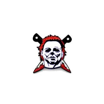 "Zobie Fright Pack - Limited Edition 1"" Enamel Lapel Pin - Halloween - Michael Myers"