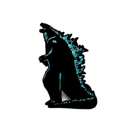 "Zobie Box - Limited Edition 2"" Enamel Lapel Pin - Godzilla - Variant"
