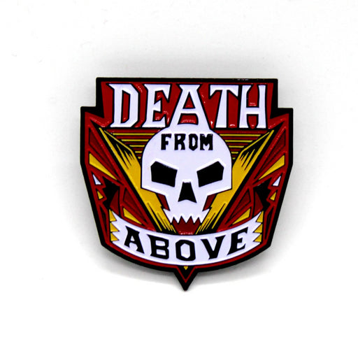 "Zobie Box - Limited Edition 2"" Enamel Lapel Pin - Starship Troopers - Death Variant"