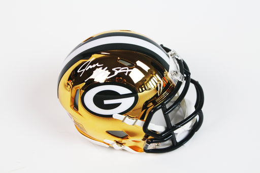 Jace Sternberger Autograph Green Bay Packers Signed Chrome Mini Helmet BAS COA