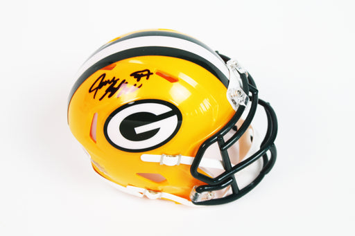 Jace Sternberger Autograph Green Bay Packers Signed Mini Helmet BAS COA