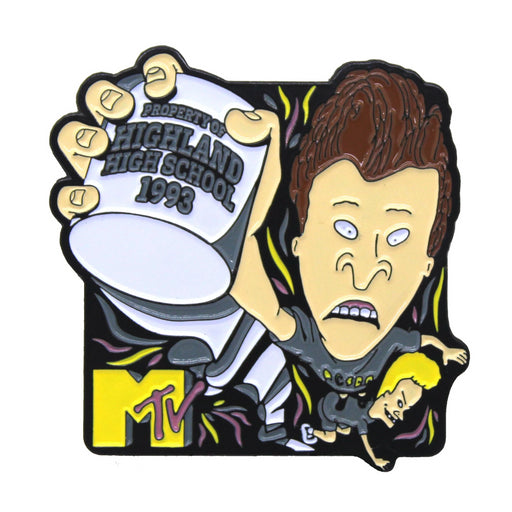 "Zobie Box - Limited Edition 2"" Enamel Lapel Pin - Beavis & Butthead - MTV Variant"