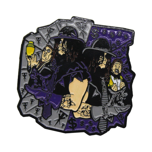 "Zobie Rasslin - Limited Edition 2"" Enamel Lapel Pin - Undertaker"