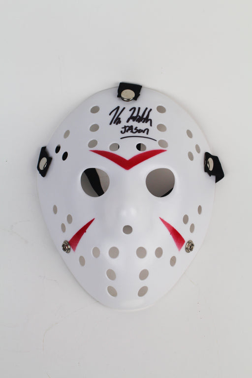 Kane Hodder Autograph Friday the 13th Jason Voorhees Mask Signed JSA COA 2