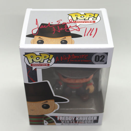 Jackie Earle Haley Autograph Nightmare on Elm Street Freddy Funko Pop Signed JSA COA Z2