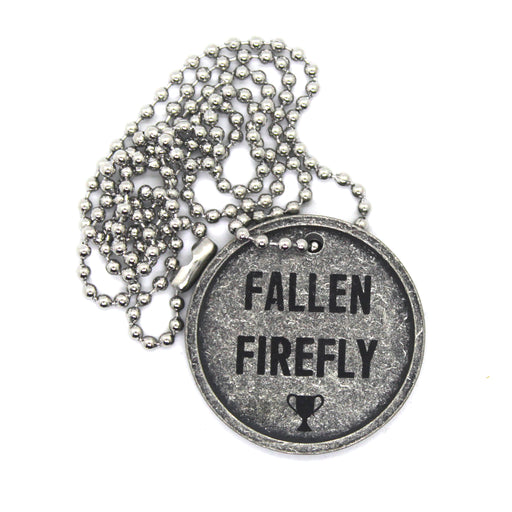 Zobie Gamer The Last of Us Firefly Pendant Necklace Prop Replica - Fallen Firefly