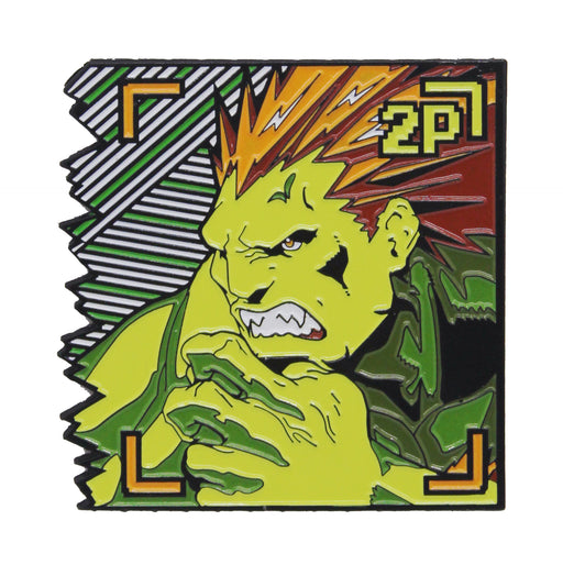 "Zobie Gamer - Limited Edition 2"" Enamel Lapel Pin - Street Fighter - Blanka"