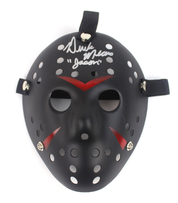 Derek Mears Autograph Friday the 13th Jason Voorhees Mask Signed JSA COA