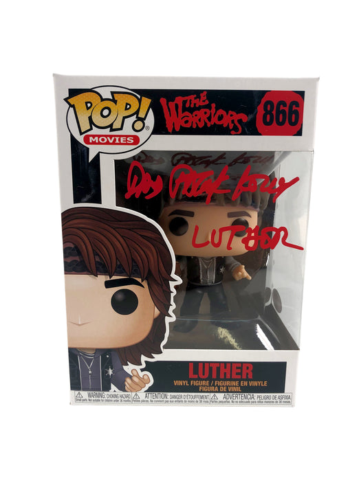 David Patrick Kelly Autograph Funko POP The Warriors Luther Signed JSA COA 7
