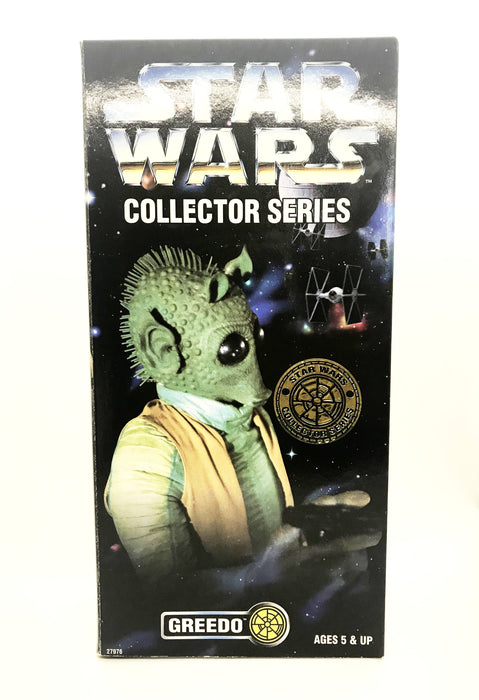 Paul Blake Signed Kenner 12 inch Collectors Series Greedo Figure JSA COA