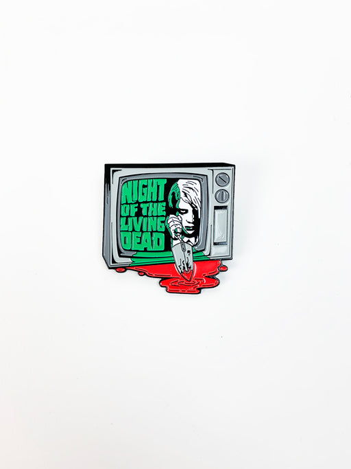 "Fright Pack - Limited Edition 2"" Enamel Lapel Pin - TVee"
