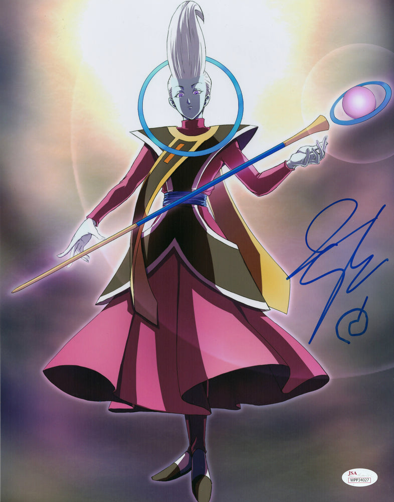 Ian Sinclair Signed 11x14 Photo Autograph Dragon Ball Super Whis JSA COA V3