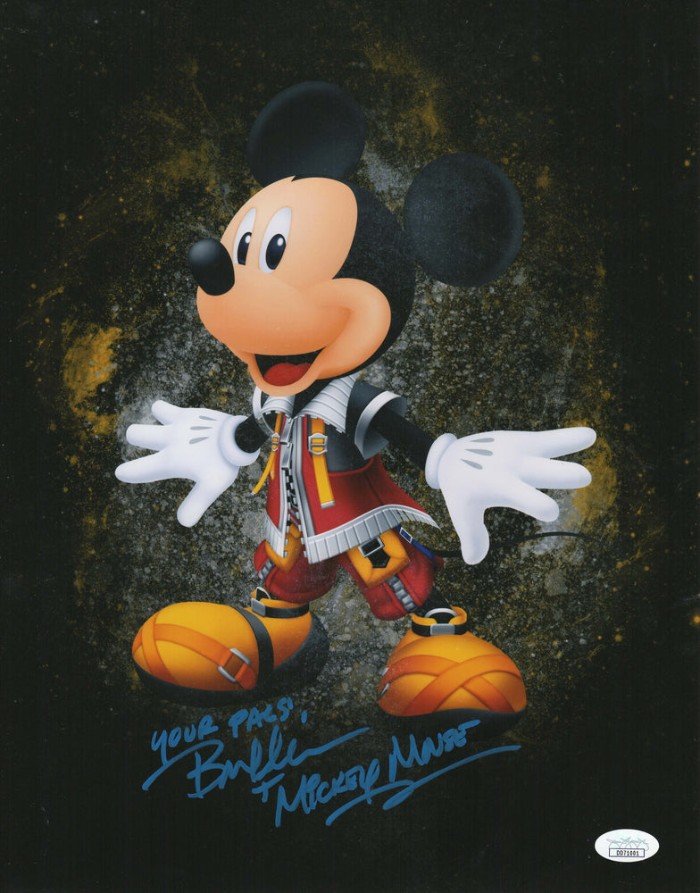 Bret Iwan Autograph 11x14 Photo Mickey Mouse Picture Signed JSA COA V1