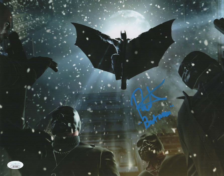 Roger Craig Smith Autograph 11x14 Photo Batman Arkham Series Signed JSA COA