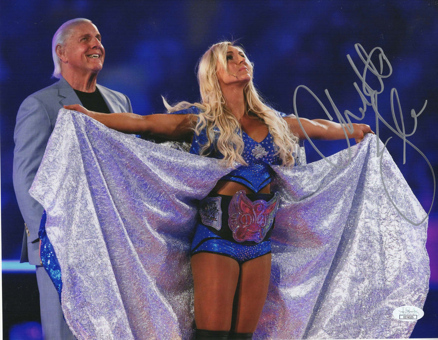 Charlotte Flair Autograph 11x14 Photo WWE Wrestling Signed JSA COA Z1