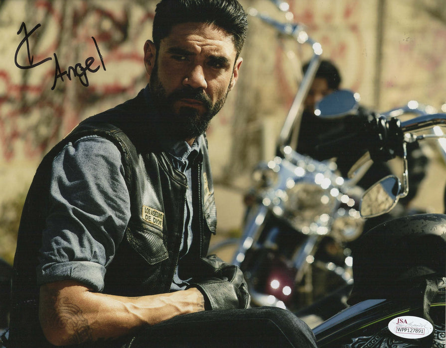 Clayton Cardenas Autograph 8x10 Photo Mayans MC Angel Signed JSA COA M3